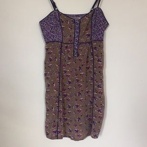 2/$15 • Urban Outfitters Sage Purple Floral Dress